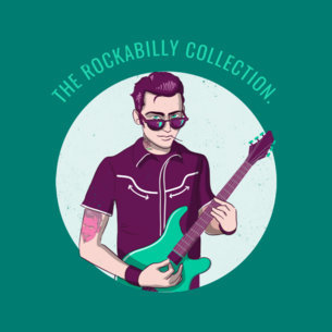 Rockabilly Collection Album Cover Template 478e