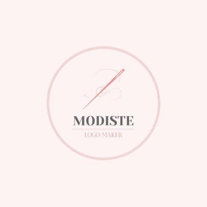 Logo Design Maker for Modiste 1331a