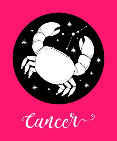Zodiac Signs T-Shirt Design Template 263