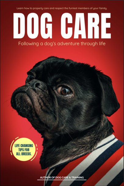 Book Cover Maker for Dog Care & Training 517