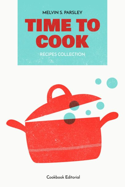 Easy Cookbook Cover Template 547