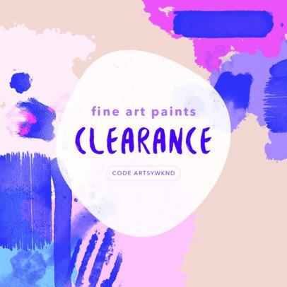Online Banner Maker for Paint Supplies 540