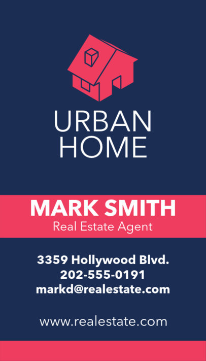 Business Card Maker for Luxury Real Estate Agency 497