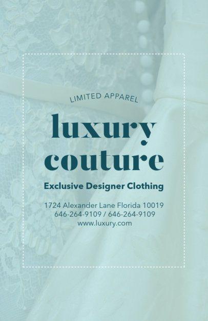 Flyer Maker for Fashion Designer 504c