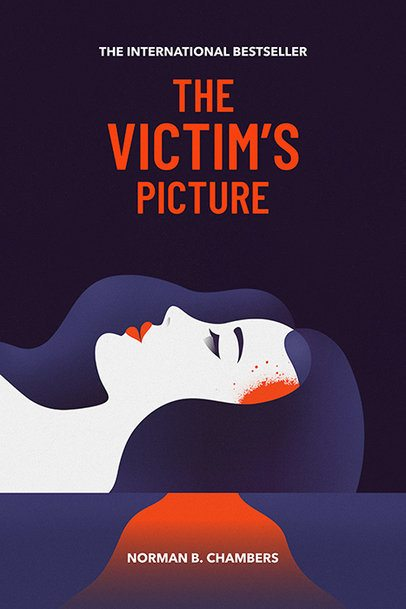 Book Cover Maker for Crime Fiction Novel 519
