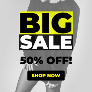 Fashion Sale Ad Banner Design Maker 543