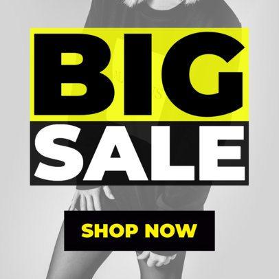 Fashion Sale Ad Banner Design Maker 543