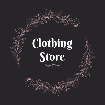 Classy Logo Maker for a Vintage Clothing Store 1084d