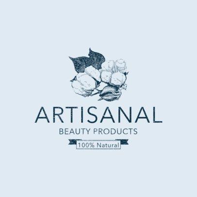 Organic Beauty Brand Logo Design Maker 1192d