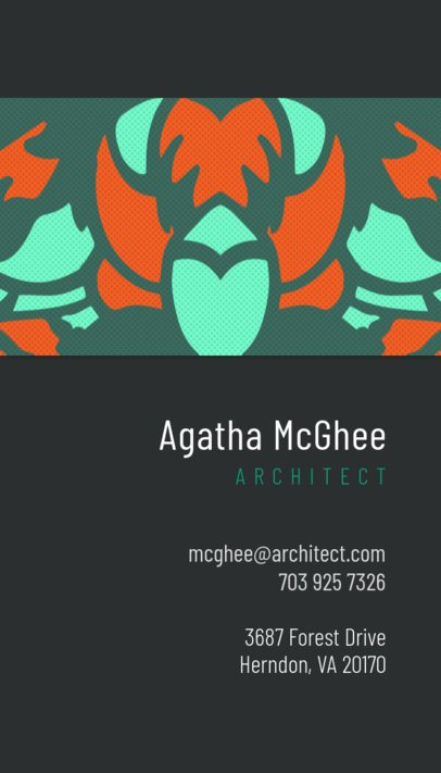 Generic Business Card Maker 571