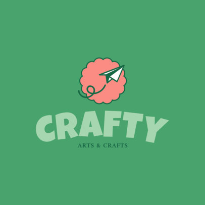 Online Logo Creator for Crafts Shop 1402