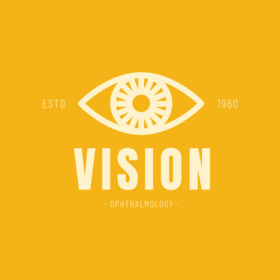 Logo Maker for Ophthalmologists and Optometrists 1377a