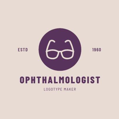 Online Logo Maker for Eye Doctors 1377c