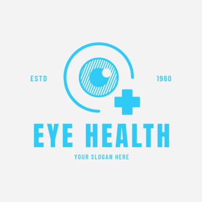 Optometrist Logo Template 1377d