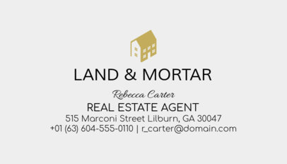Business Card Maker for Licensed Real Estate Agents 499a-1877