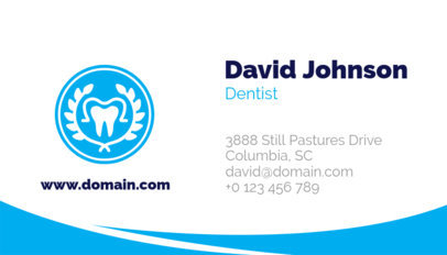 Dental Business Card Creator 562