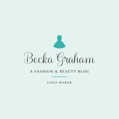 Beauty Logo Maker for Beauty Blogger 1408d