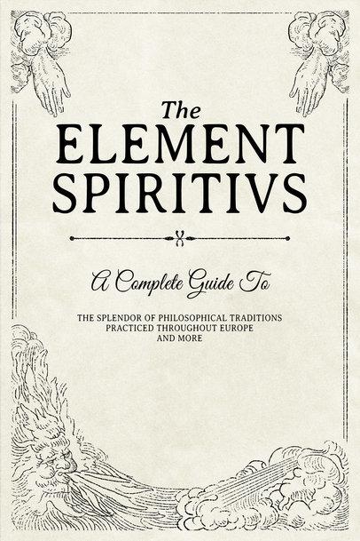 Mystical Book Cover Template 539