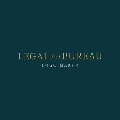 Legal Consultant Online Logo Maker 1353c