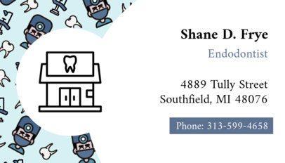 Endodontist Business Card Maker 560b