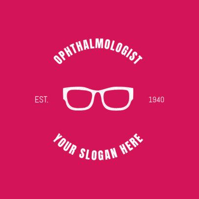 Ophthalmologist Professionals Online Logo Maker 1370c