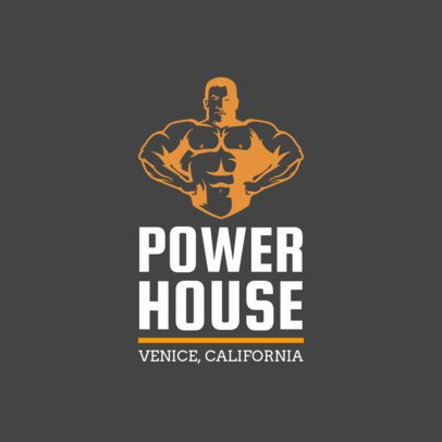 Gym Logo Creator 1347a