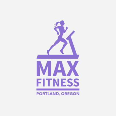 Logo Maker for Fitness Center 1347b