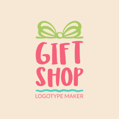 Creative Logo Maker for Gift Shops 1395