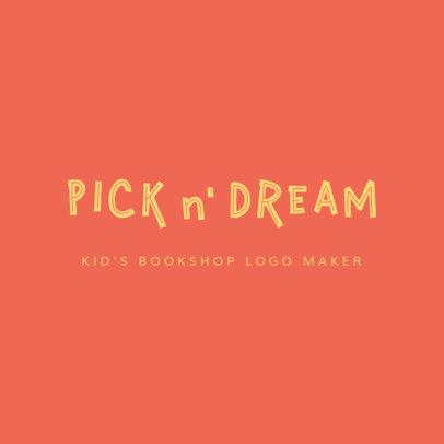 Children's Bookstore Online Logo Templates 1354c