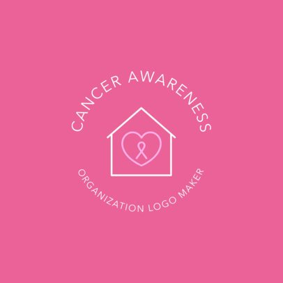 Cancer Awareness Logo Maker 1373e
