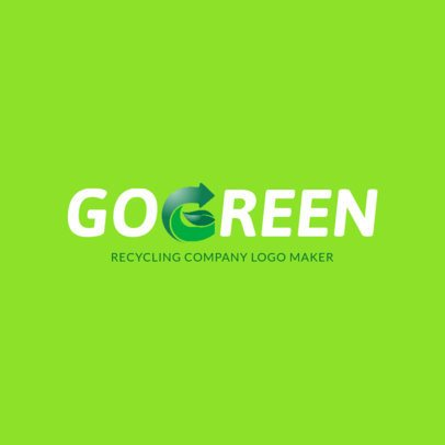 Waste Management Online Logo Template 1372e
