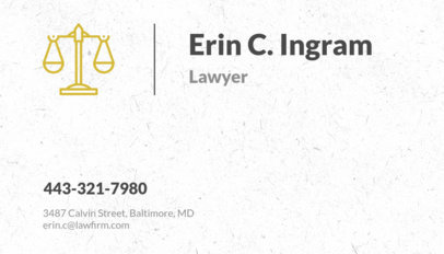 Placeit criminal lawyer business card template criminal lawyer business card template cheaphphosting Gallery