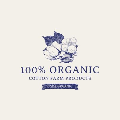 Logo Maker for Organic Agriculture 1378f