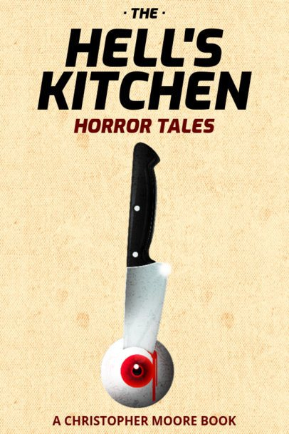 Book Cover for Horror Books with Scary Graphics 537b