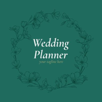 Logo Maker for Wedding Event Planner 1379e
