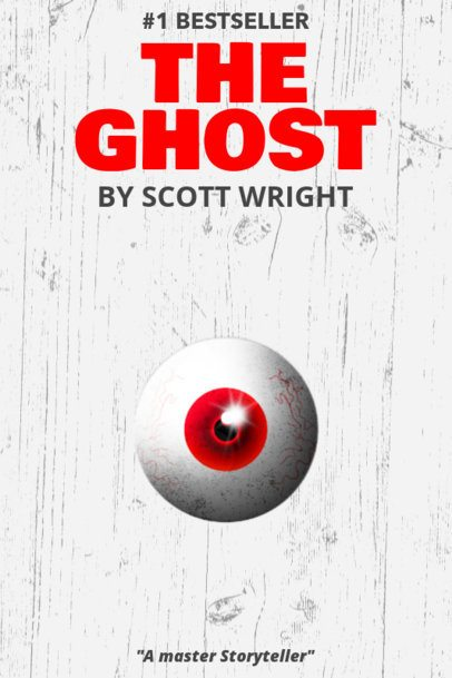 Book Cover Template to Design a Scary Book Cover 537d