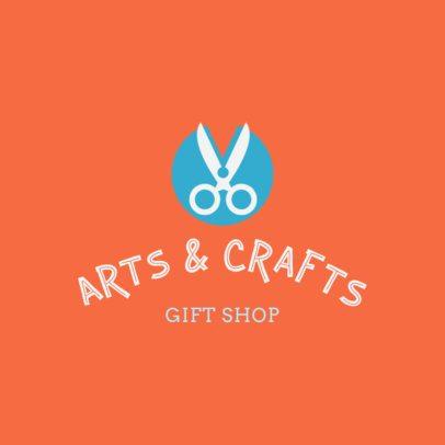 Crafts Gift Shop Logo Creator 1402e