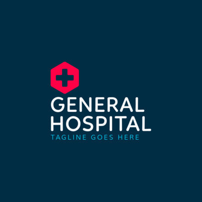 Medical Logo Maker for Hospitals 1368e