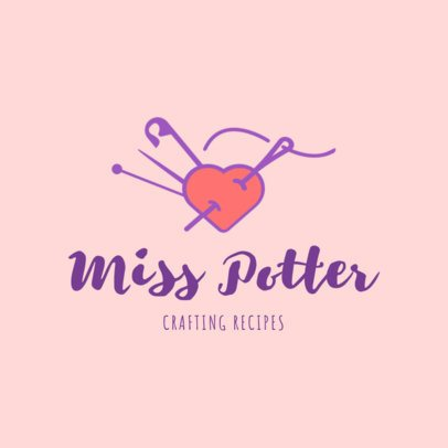 Crafting Store Logo Creator 1401d