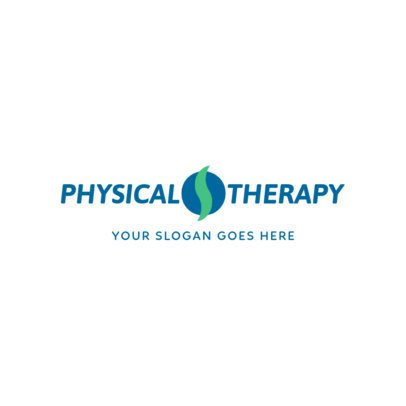 Physical Therapist Online Logo Maker 1367