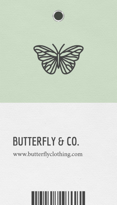 Clothing Company Business Card Template 550d