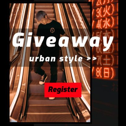 Ad Banner Creator for Urban Style Giveaway 526d
