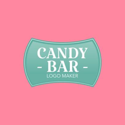 Retro Candy Bar Logo Maker 1390b