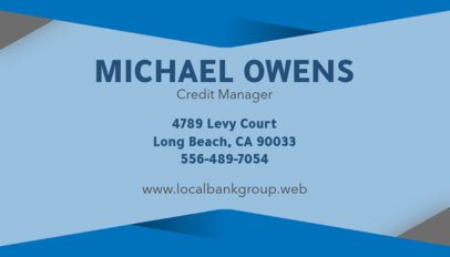 Professional Business Card Creator 555c