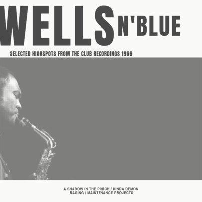 Classic Blues CD Cover Creator 472d