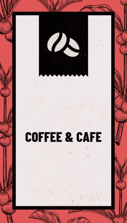 Business Card Template for Coffee Houses 36d-1903