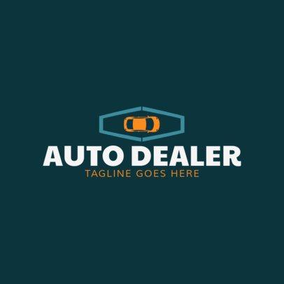 Auto Dealer Logo Design Template 1405a