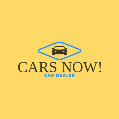 Car Dealerships Logo Creator 1405b
