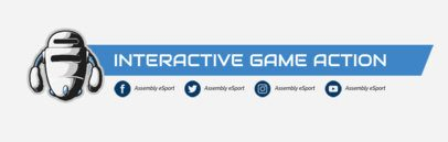 eSports Banner Template for Twitch 583d