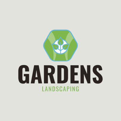 placeit lawn care logo template